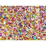 Bright Floral Multicolored Confetti Biodegradable Wedding Confetti Mix Party Decorations Decor Throwing Send Off (75g/2.5oz/1