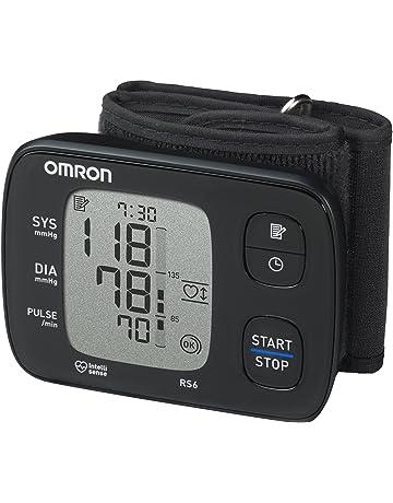 OMRON RS6 - Tensiómetro de muñeca, detección de pulso irregular y de movimiento, validado