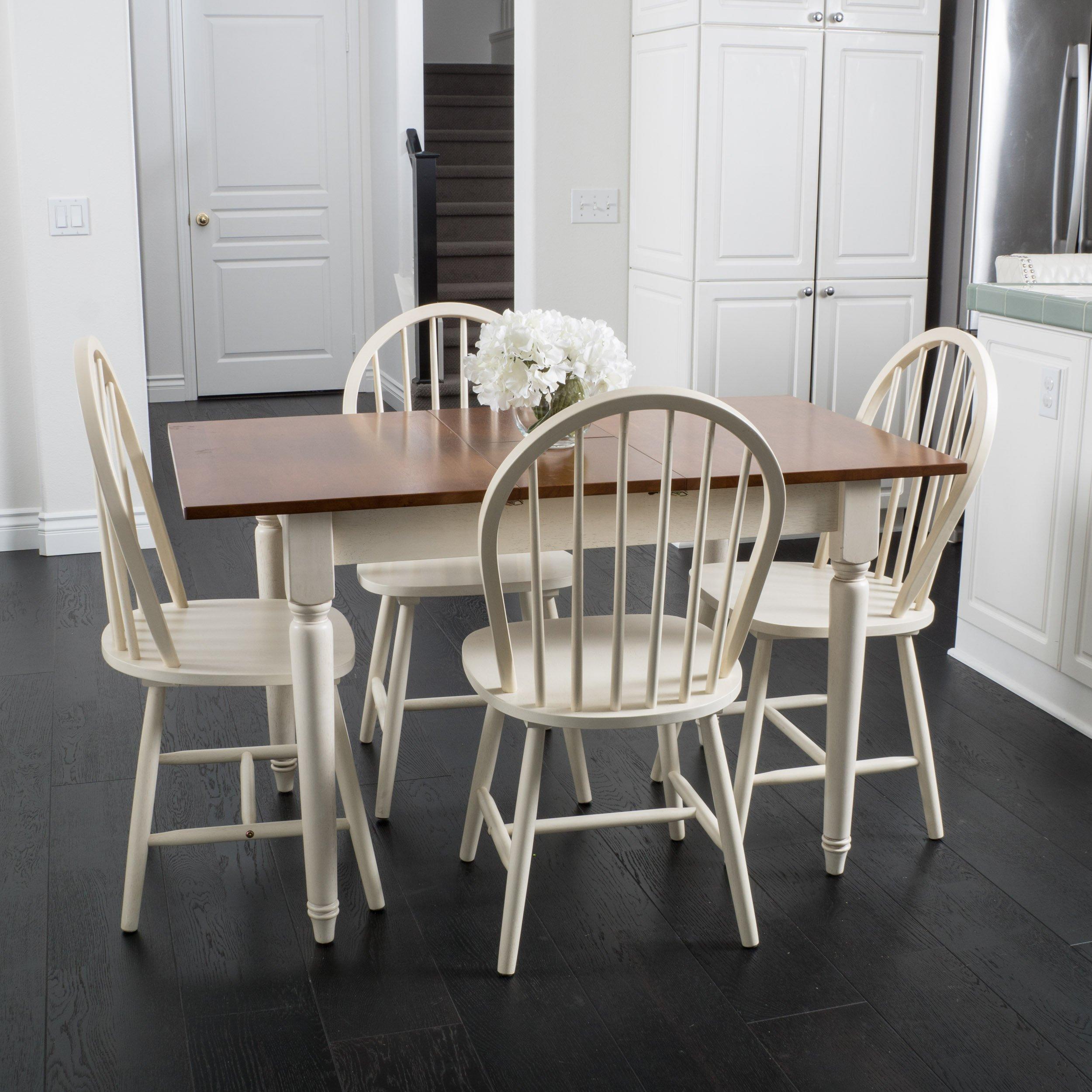 farmhouse kitchen table sets Farmhouse Kitchen Table Set: Amazon.com farmhouse kitchen table sets