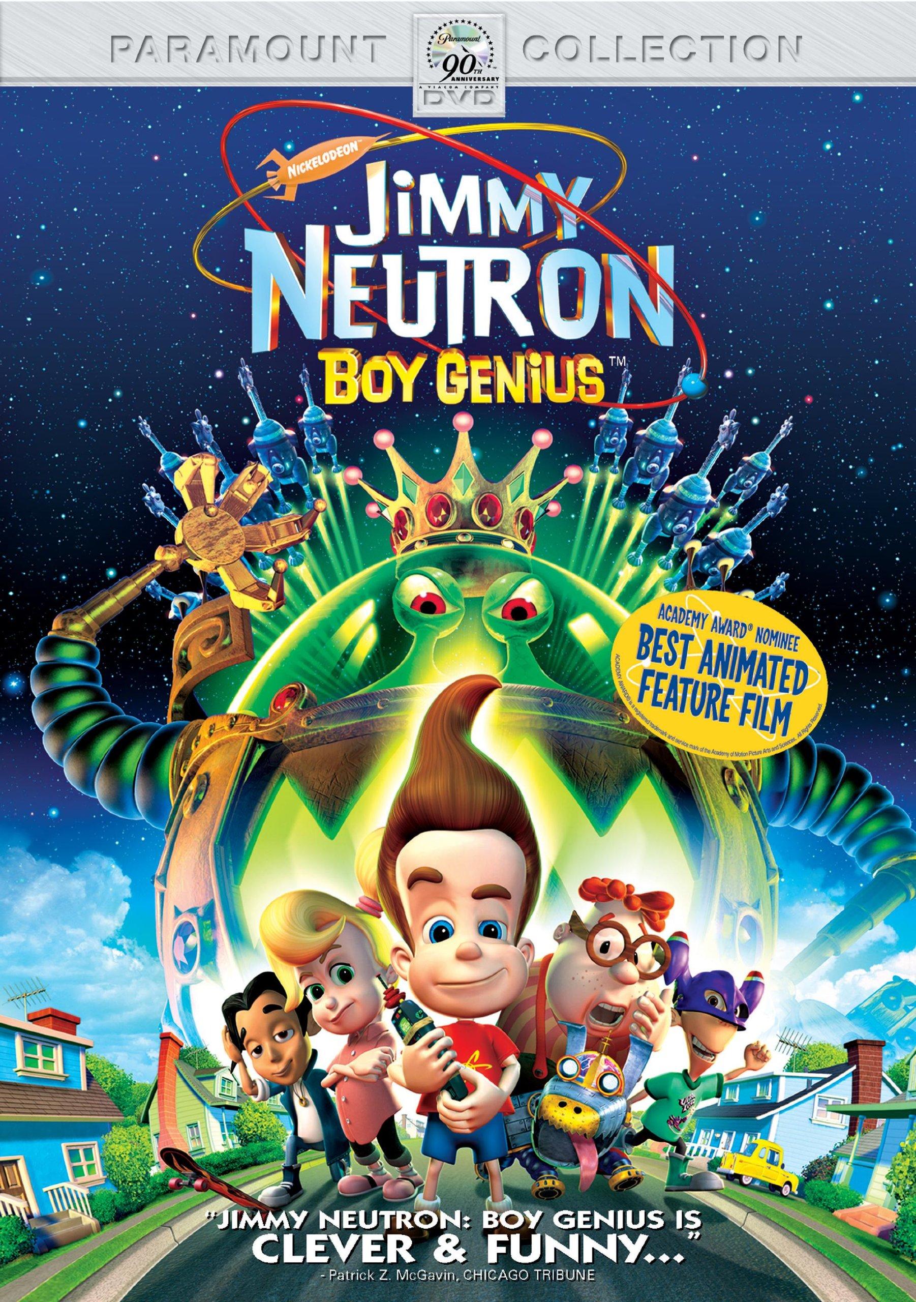 DVD : Jimmy Neutron: Boy Genius (Eco Amaray Case)