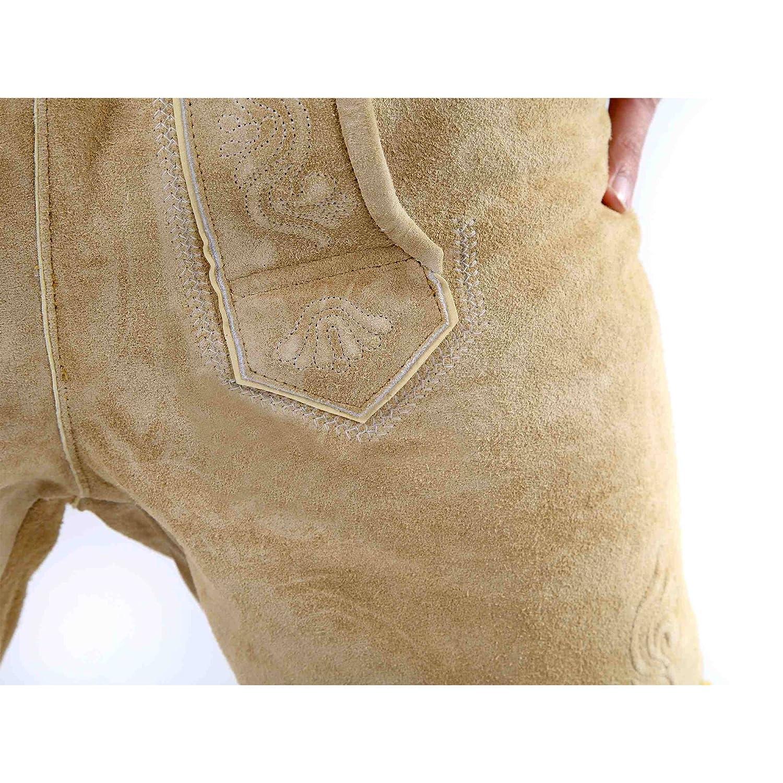 Almbock Lederhose Herren kurz     Trachten Lederhose kurz aus edlem Leder von Gr. 46-60   Kurze Lederhose in vielen Farben perfekt für Oktoberfest oder Karneval B00KTF1CL2 Lederhosen Elegantes und robustes Menü af429f