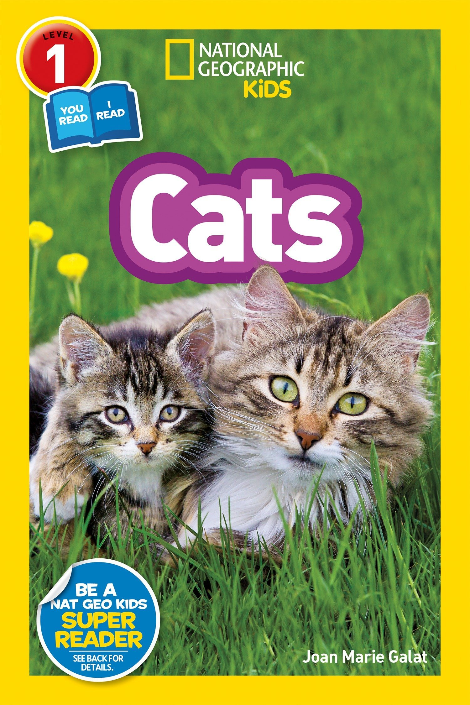 National Geographic Kids Readers: Cats