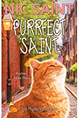 Purrfect Saint (The Mysteries of Max Book 21) Kindle Edition