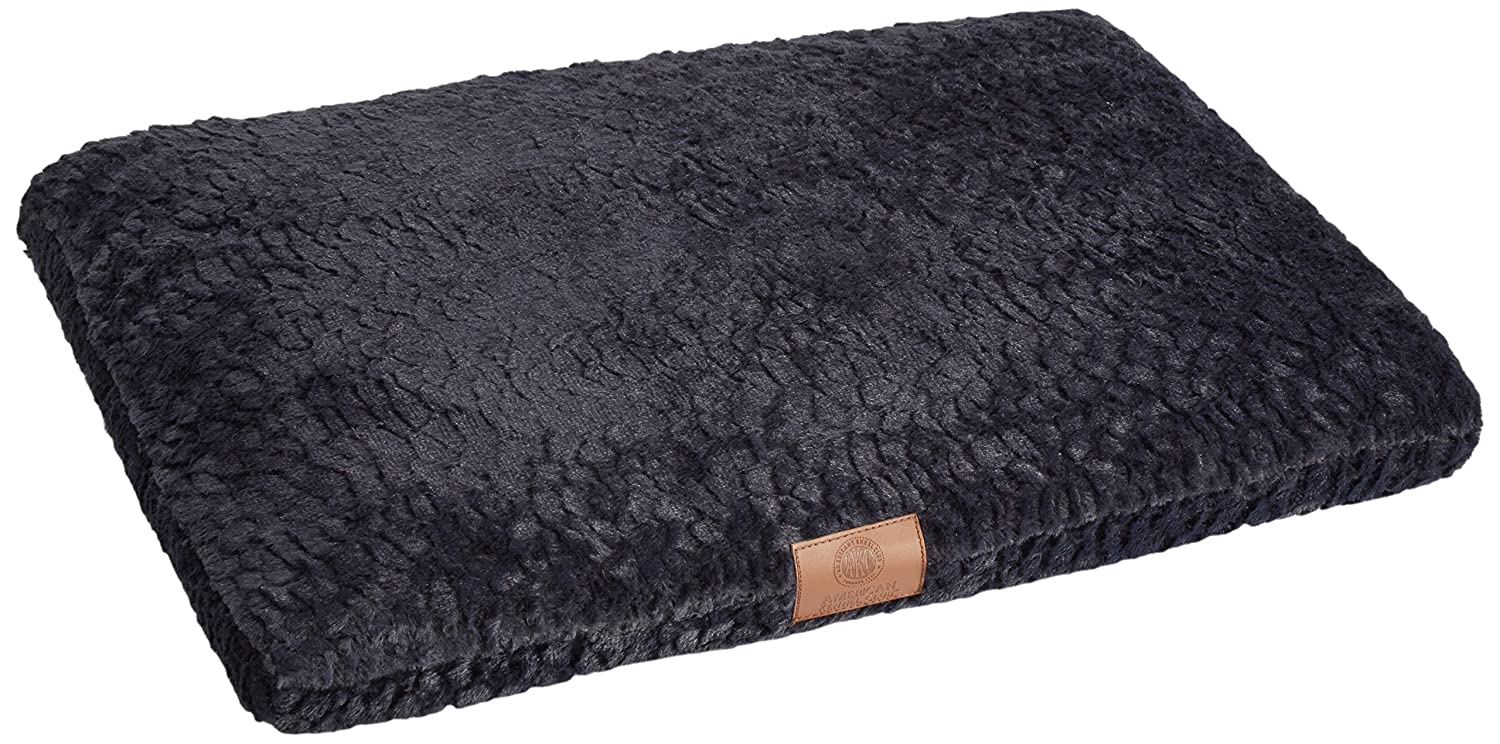 Navy 30x22'' Navy 30x22'' American Kennel Club AKC Orthopedic Crate Mat, 30 by 22-Inch, Navy