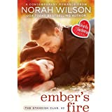 Ember's Fire: A Hearts of Harkness Small Town Contemporary Romance (The Standish Clan Book 2)