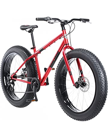 86259e64517d Mongoose Dolomite Fat Tire Mountain Bike, Featuring 17-Inch/Medium  High-Tensile