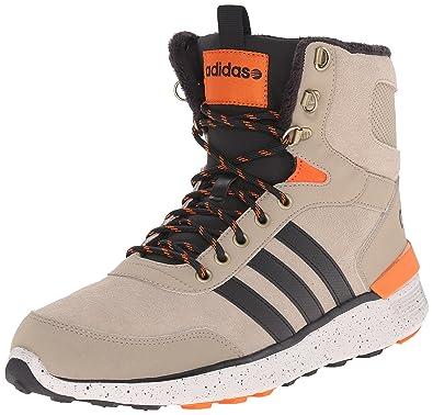 b5c2ba791f5 ... canada adidas neo men s lite racer hi lace up shoe cargo khaki black  orange c64ee