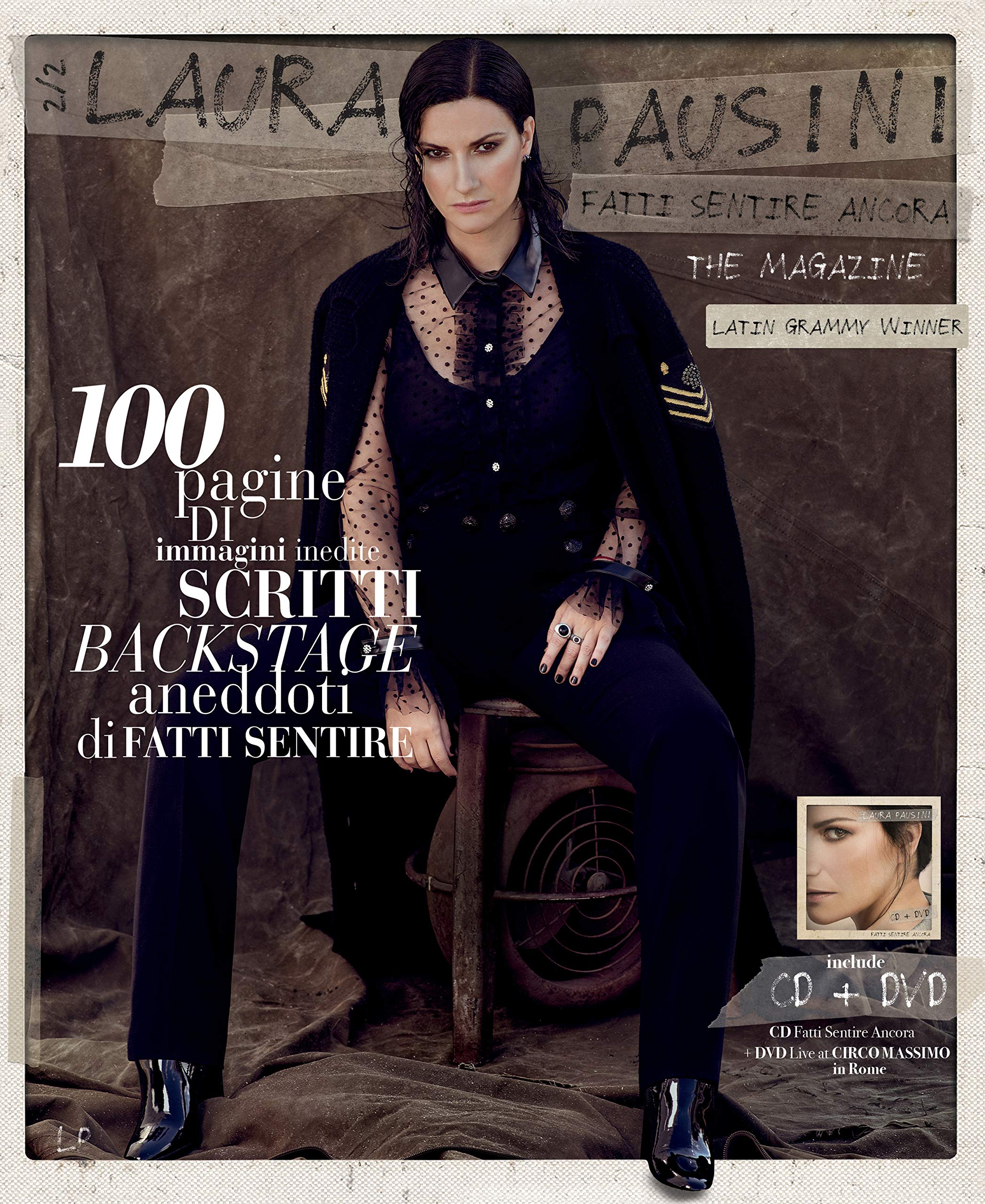 CD : Laura Pausini - Fatti Sentire Ancora: The Magazine (With DVD, With Book, Italy - Import)