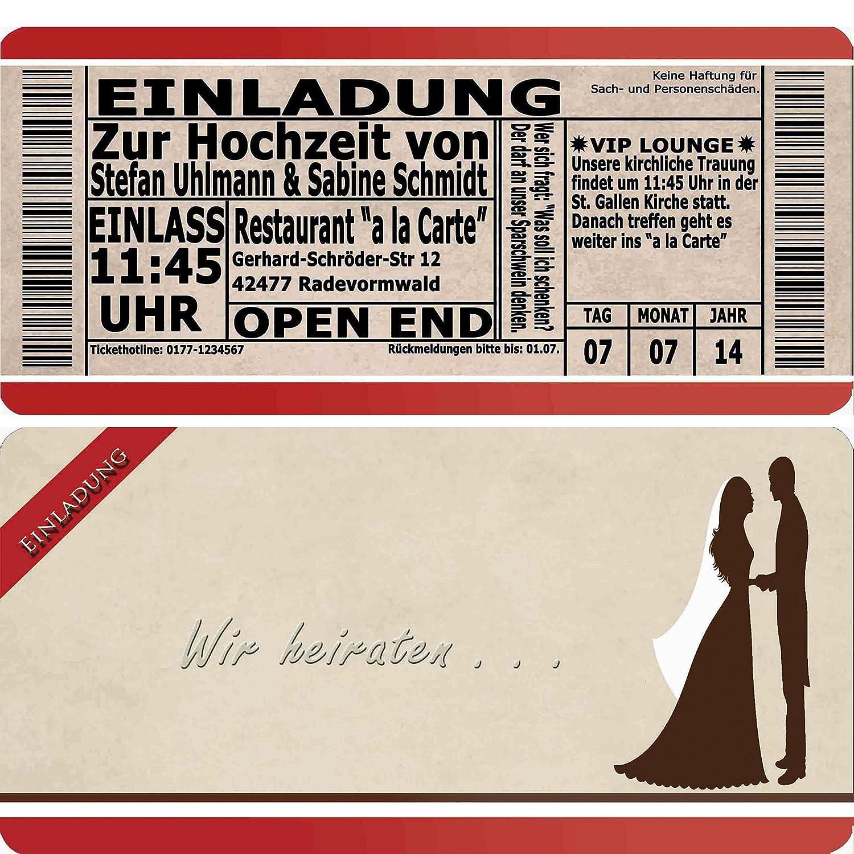 Einladungskarten Hochzeit Flugticket Eintrittskarte Einladung Einladung Einladung Ticket - 90 Stück B01ED4IXZM | Zu einem erschwinglichen Preis  | 2019  | Auf Verkauf  983adf