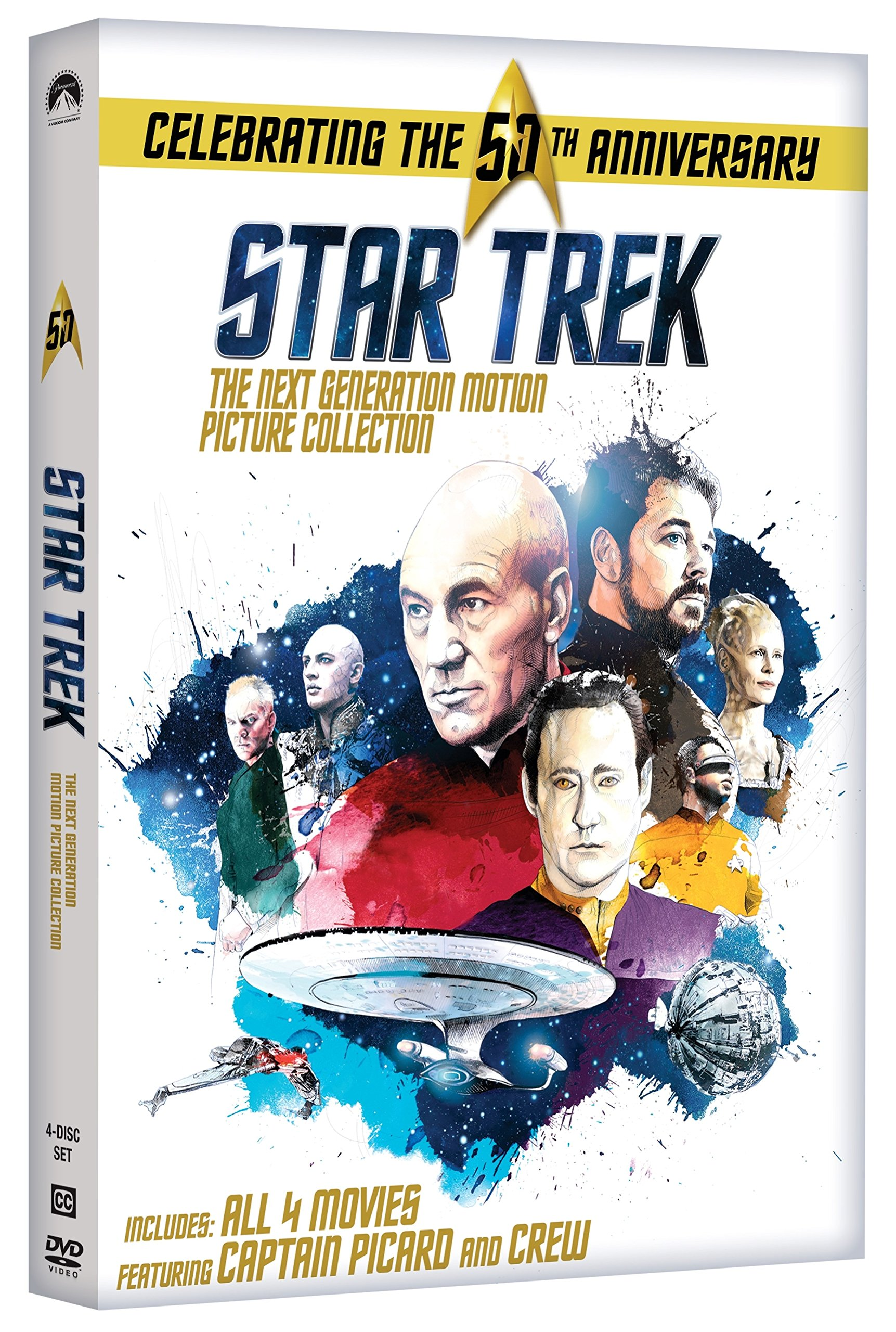 DVD : Star Trek: The Next Generation Motion Picture Collection (Boxed Set, Widescreen, , Dubbed, Repackaged)
