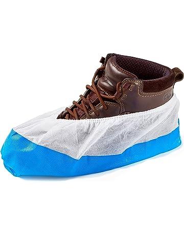 50 Cubiertas para zapato/Cubrezapatos con suela de 9 gramos, reforzada, antideslizante,