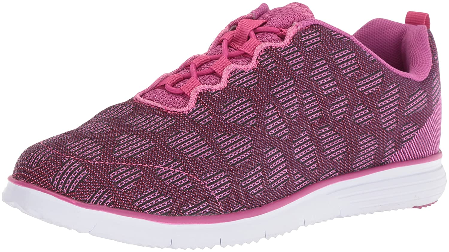 Propét Women's TravelFit Walking Shoe B073DNM1QW 7.5 2E US|Berry