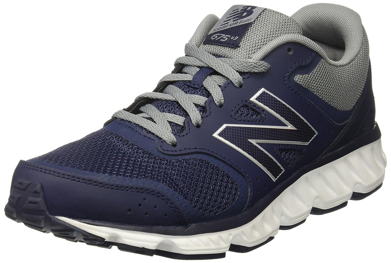 New Balance Men's M675v3 Cushioning Running Shoe B01LYM92LV 9 4E US|Navy