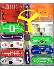 EZLink 58 DIY Circuit Experiments,Science Kits,Electronic Discovery Kit Toy for Kids,Kids Circuits,Kids Circuit Kit,Science Experiments For Kids,Experiments For Kids,Science Experiment Kits For Kids