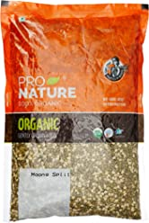 Pro Nature 100% Organic Moong Green Split, 1kg