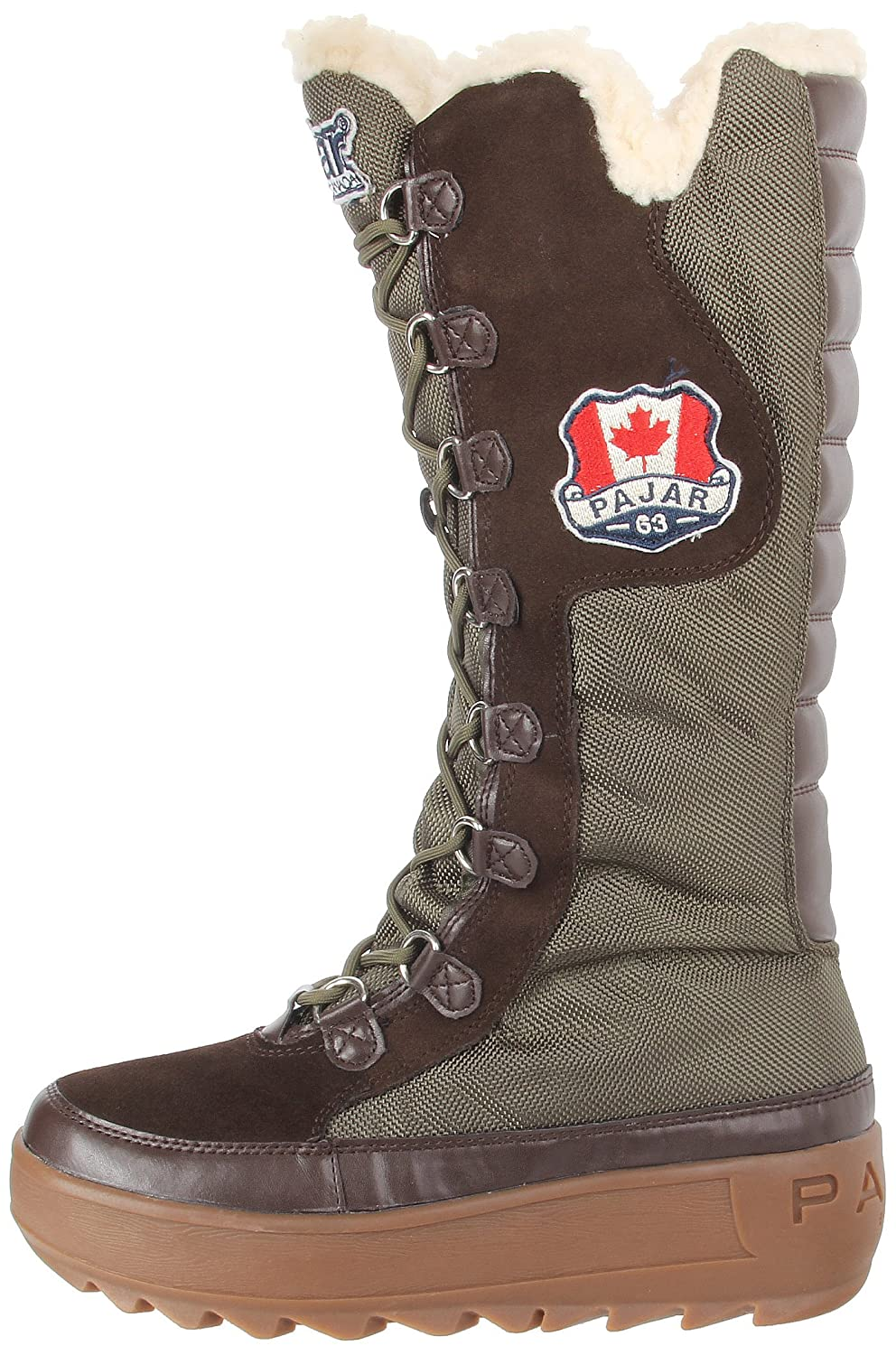 Pajar 36 Women's Greenland Boot B00D3090NM 36 Pajar EU|Military Green/Dark Brown a83b43