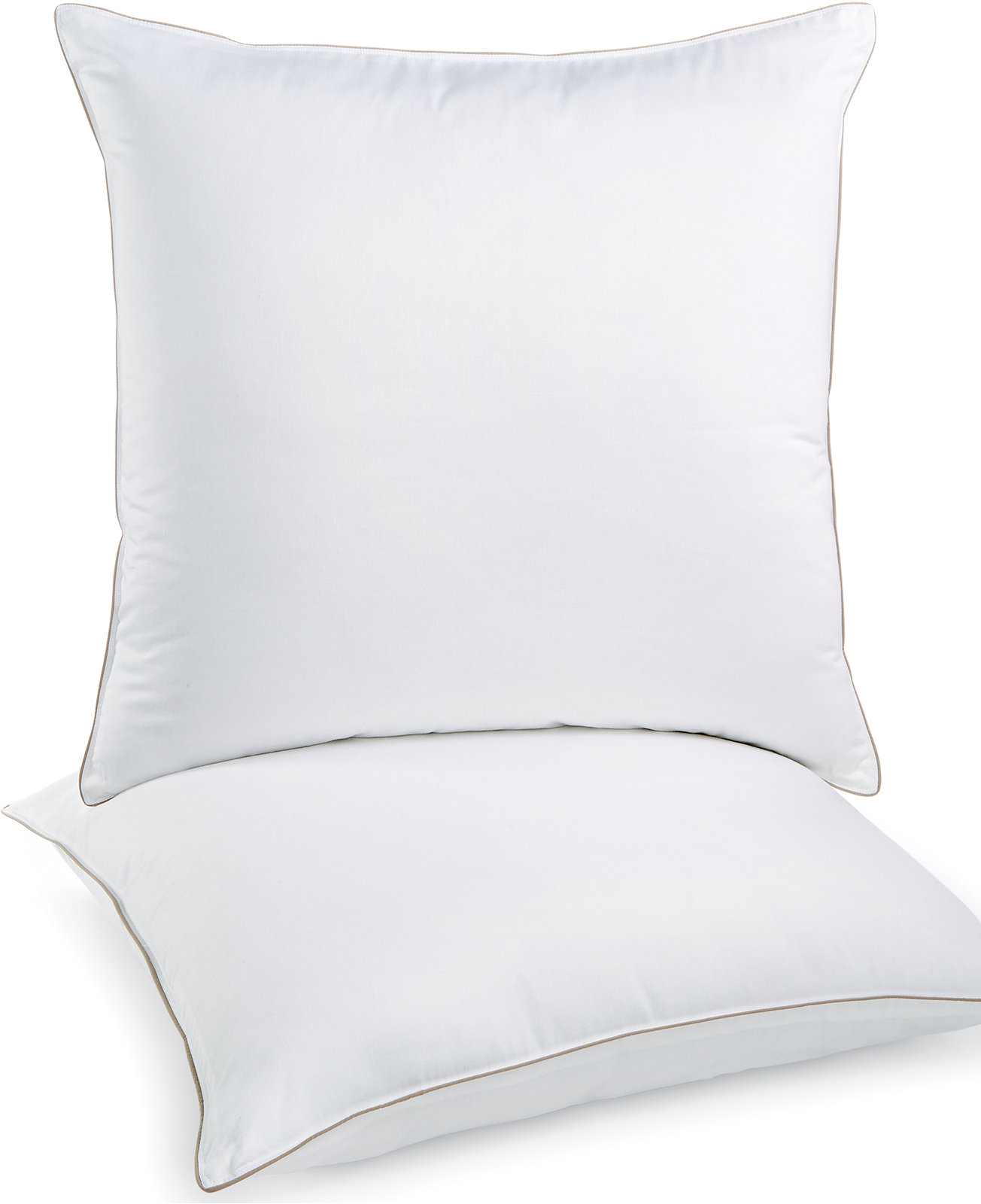 Martha Stewart Collection Allergy Wise 2 Pack Euro Pillows - Pillows - Bed & Bath - Macy's Bridal and Wedding Registry