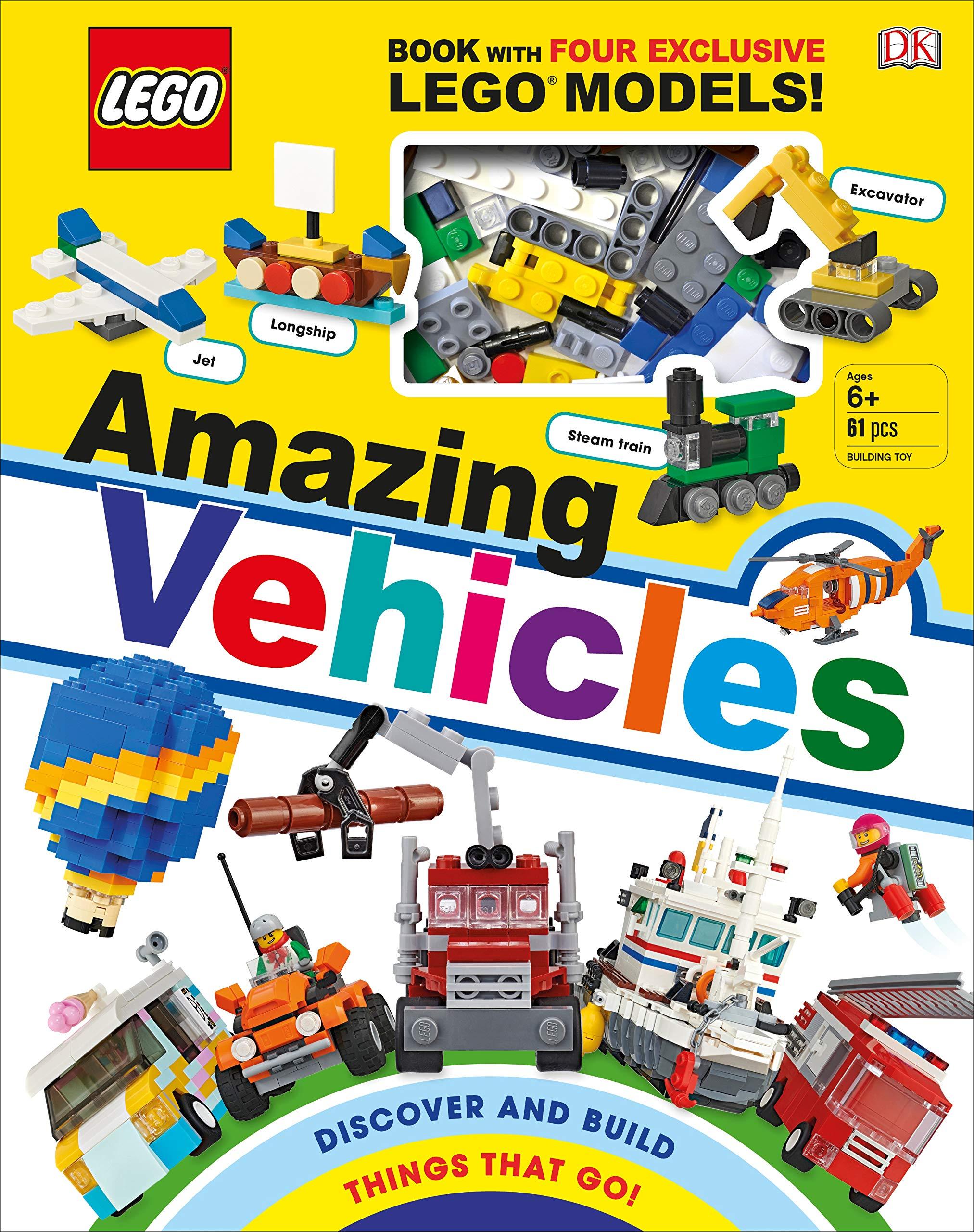 LARGE RANGE OF ORIGINAL LEGO VEHICLE PARTS .