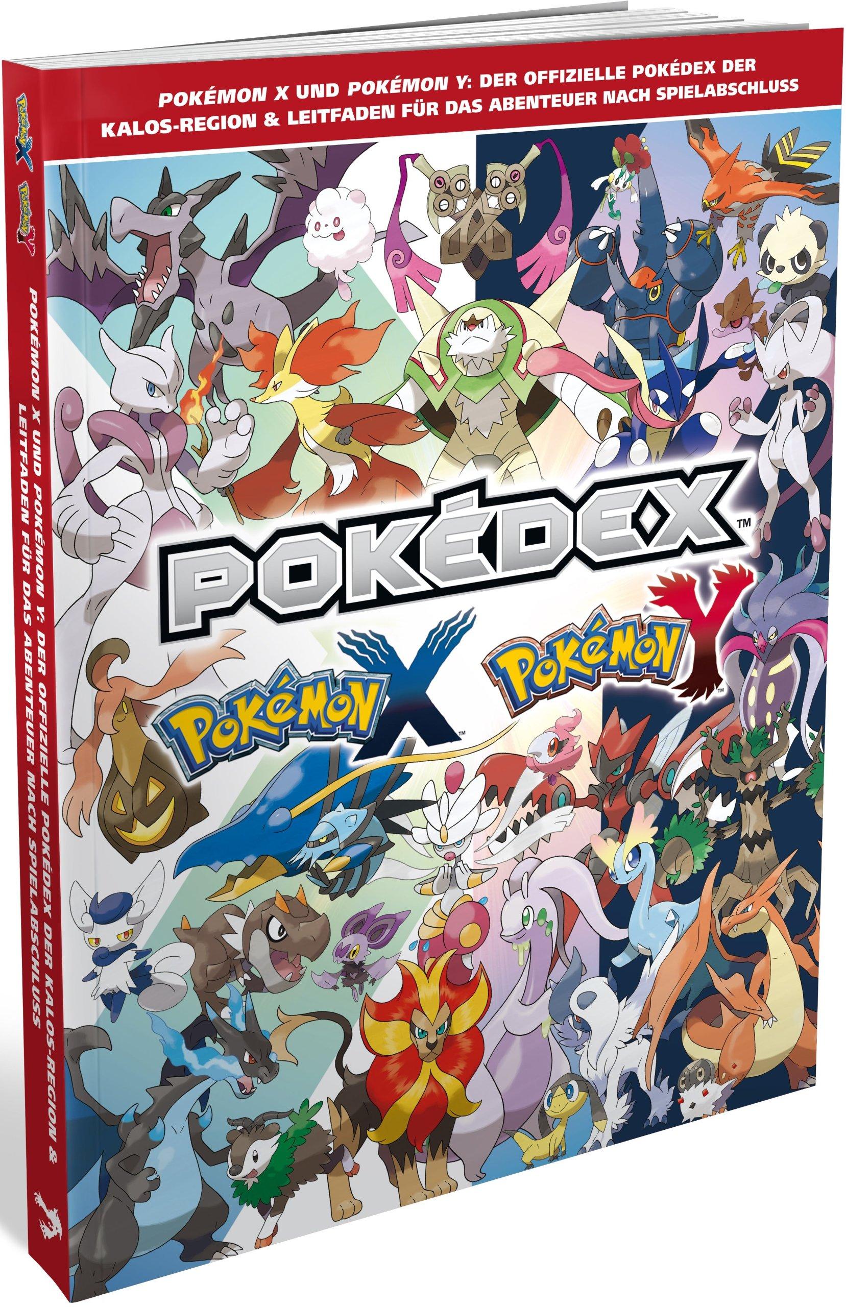 Pokemon X And Y Pokedex Book