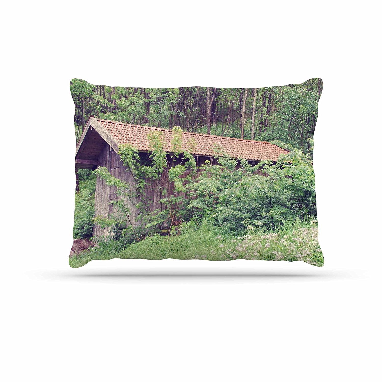 KESS InHouse Sylvia Coomes Hidden Green Nature Dog Bed, 30  x 40