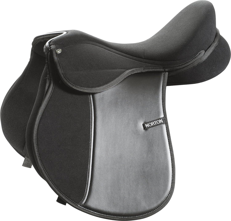 Black 17-Inch Black 17-Inch Norton Saddle  Spring – Black