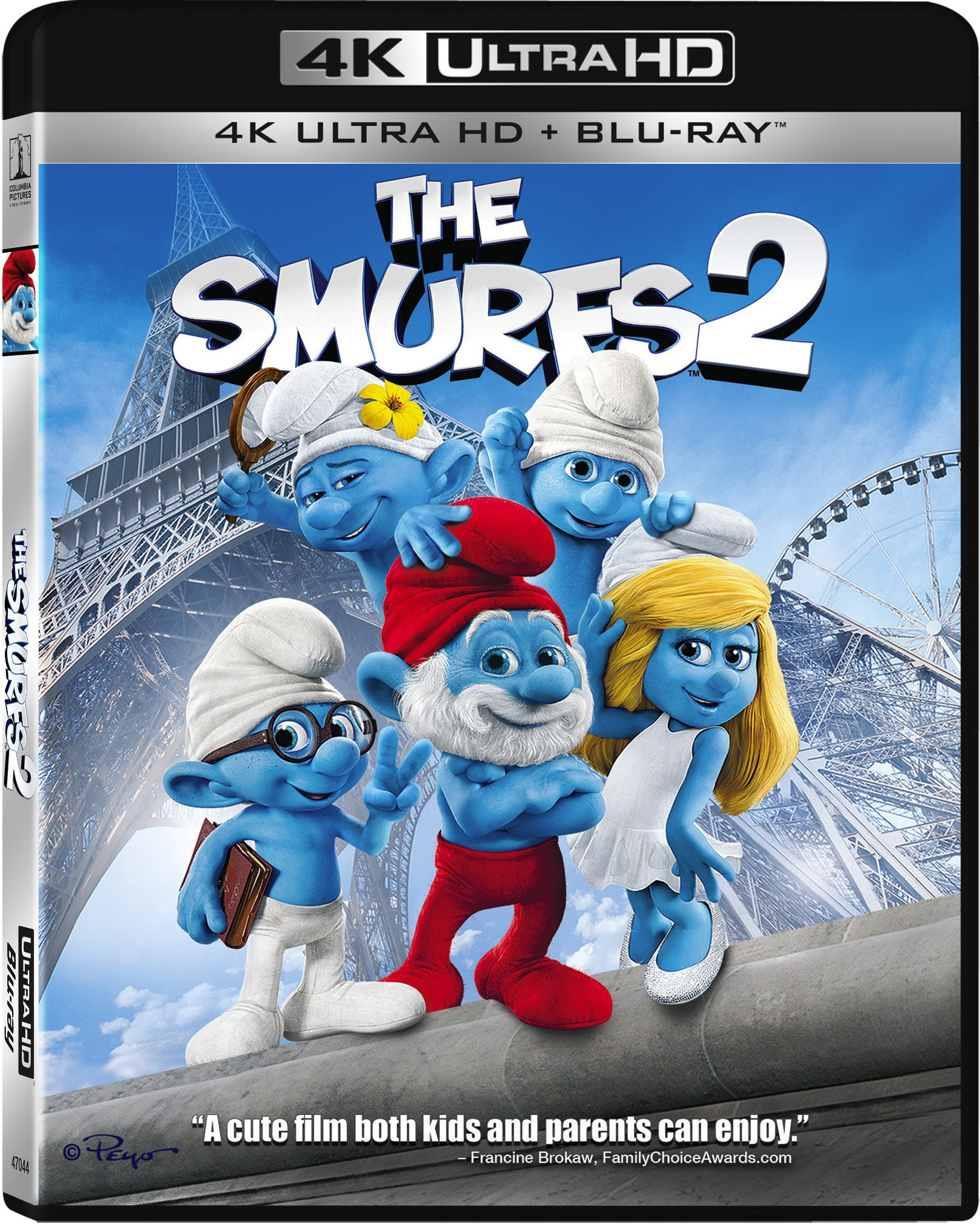 4K Blu-ray : The Smurfs 2 (With Blu-Ray, Ultraviolet Digital Copy, 2 Disc)