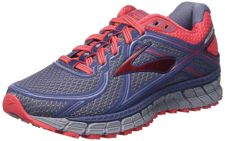 Brooks Damen Adrenaline ASR 13 Laufschuhe, blau/rot Mehrfarbig (CrownBlau/Teaberry/Stonewash) (CrownBlau/Teaberry/Stonewash) Mehrfarbig f1ccd4