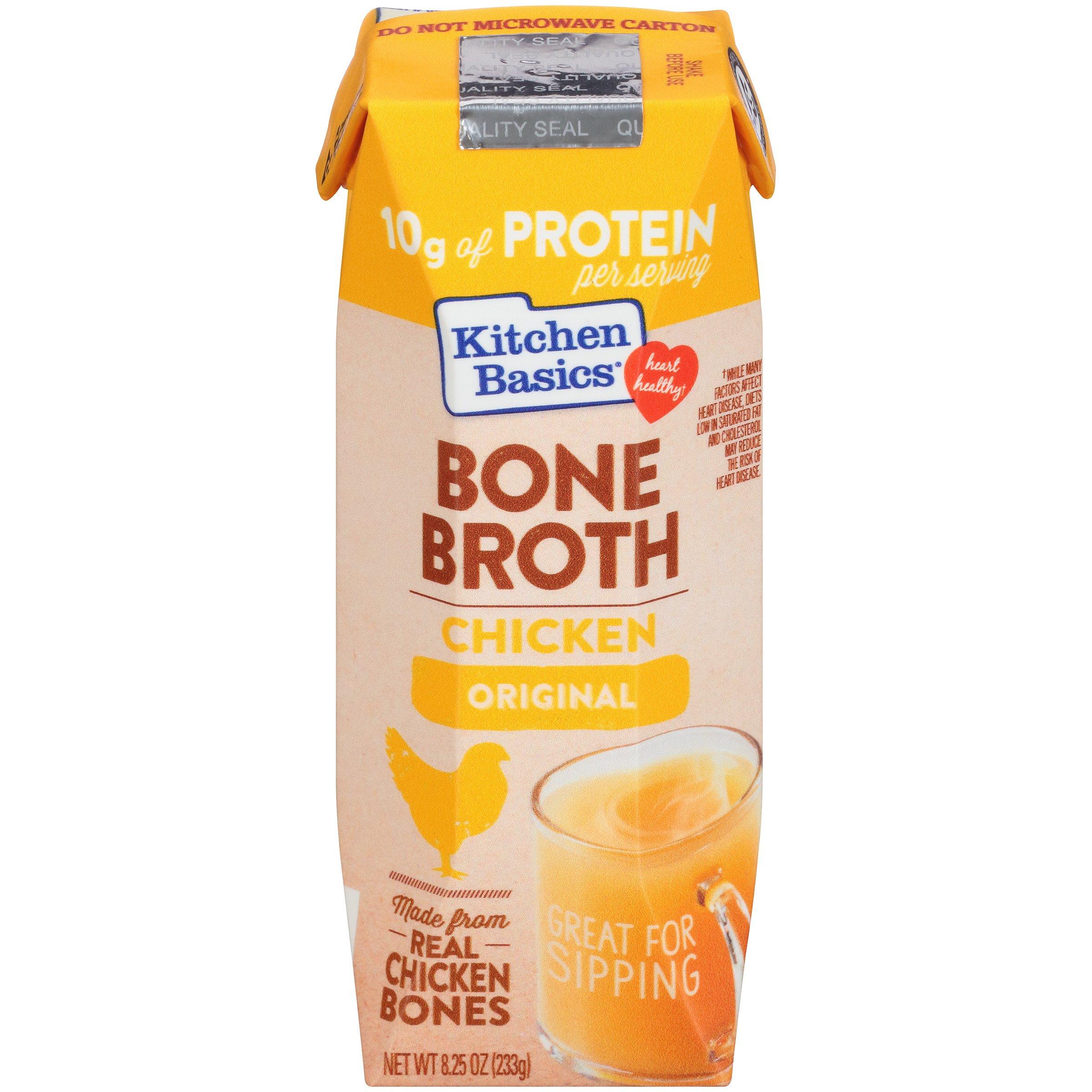 Pacific Foods Organic Bone Broth Original Chicken, 8 oz: Amazon.com: Grocery & Gourmet Food
