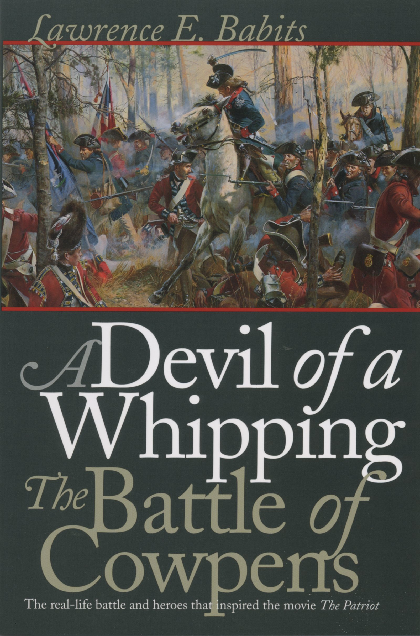 Battle cowpens devil whipping