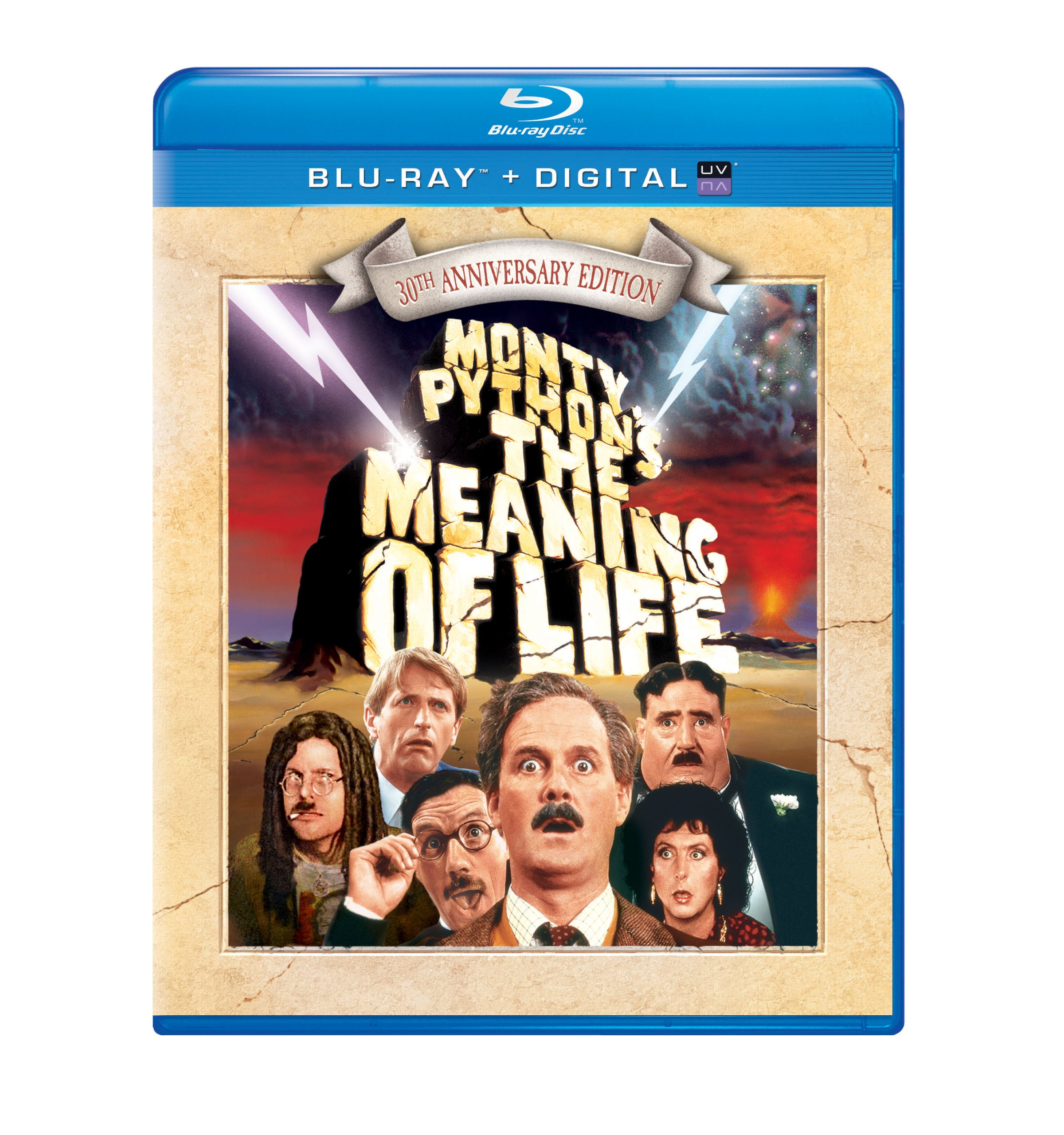 Blu-ray : Monty Python's The Meaning Of Life 30th Anniversary Edition (Anniversary Edition, Ultraviolet Digital Copy, Digital Copy, Snap Case)
