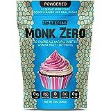 Monk Zero - Powdered Monk Fruit Sweetener, Non-Glycemic, Keto Approved, Zero Calories, 1:1 Confectioner Sugar Substitute (Pow