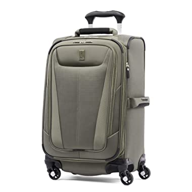 Travelpro Luggage Maxlite 5 Lightweight Expandable Suitcase , Slate Green