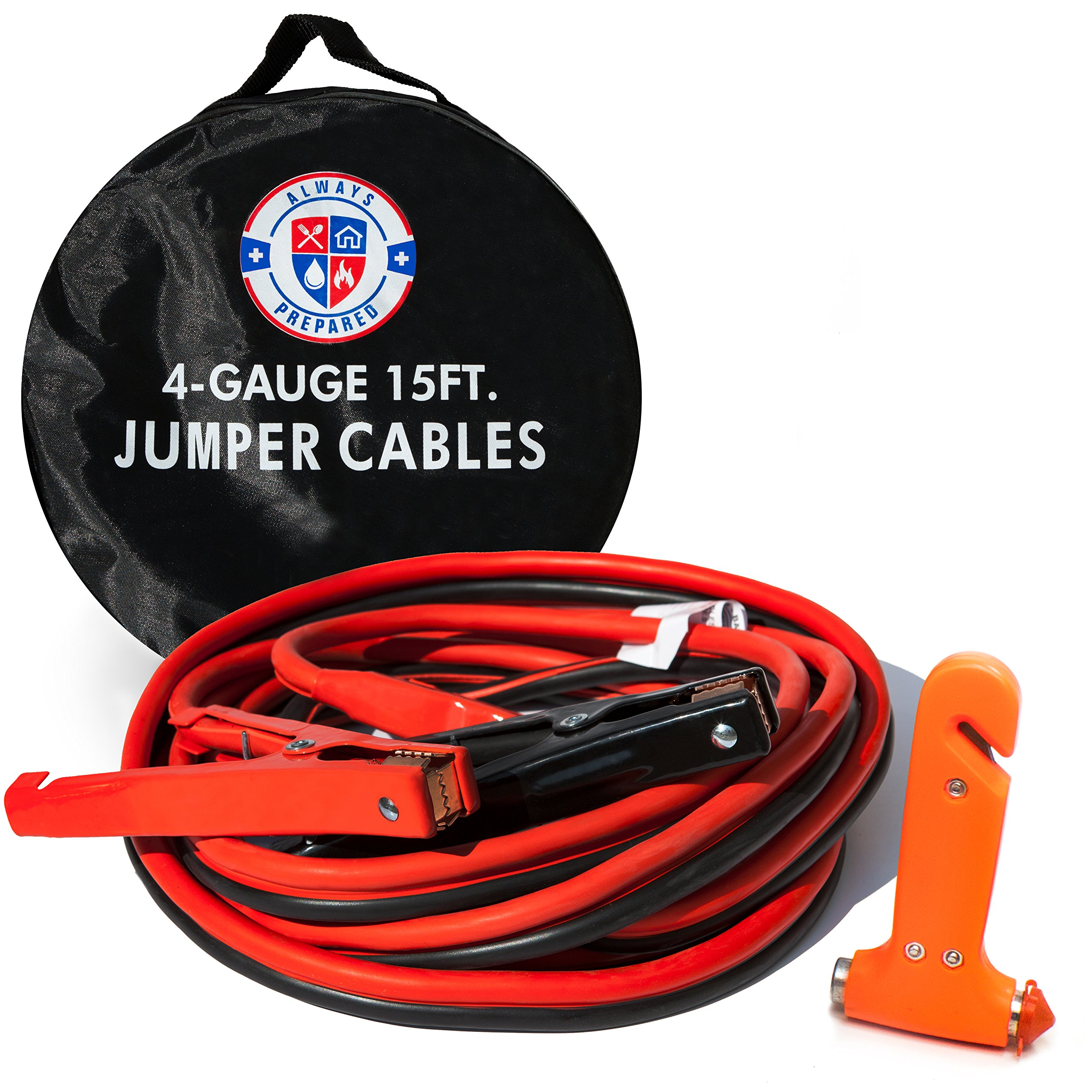 Best Rated In Automotive Replacement Battery Cables Helpful Gator Fuse Box Jumper 4 Gauge 15 Feet W Carry Bag Emergency Auto Escape Tool
