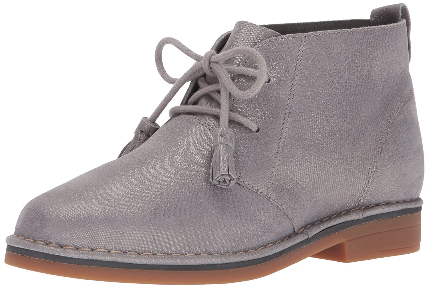 Hush Puppies Women's Cyra Catelyn Ankle Bootie B01MYFLRBS 11 B(M) US|Grey Shimmer