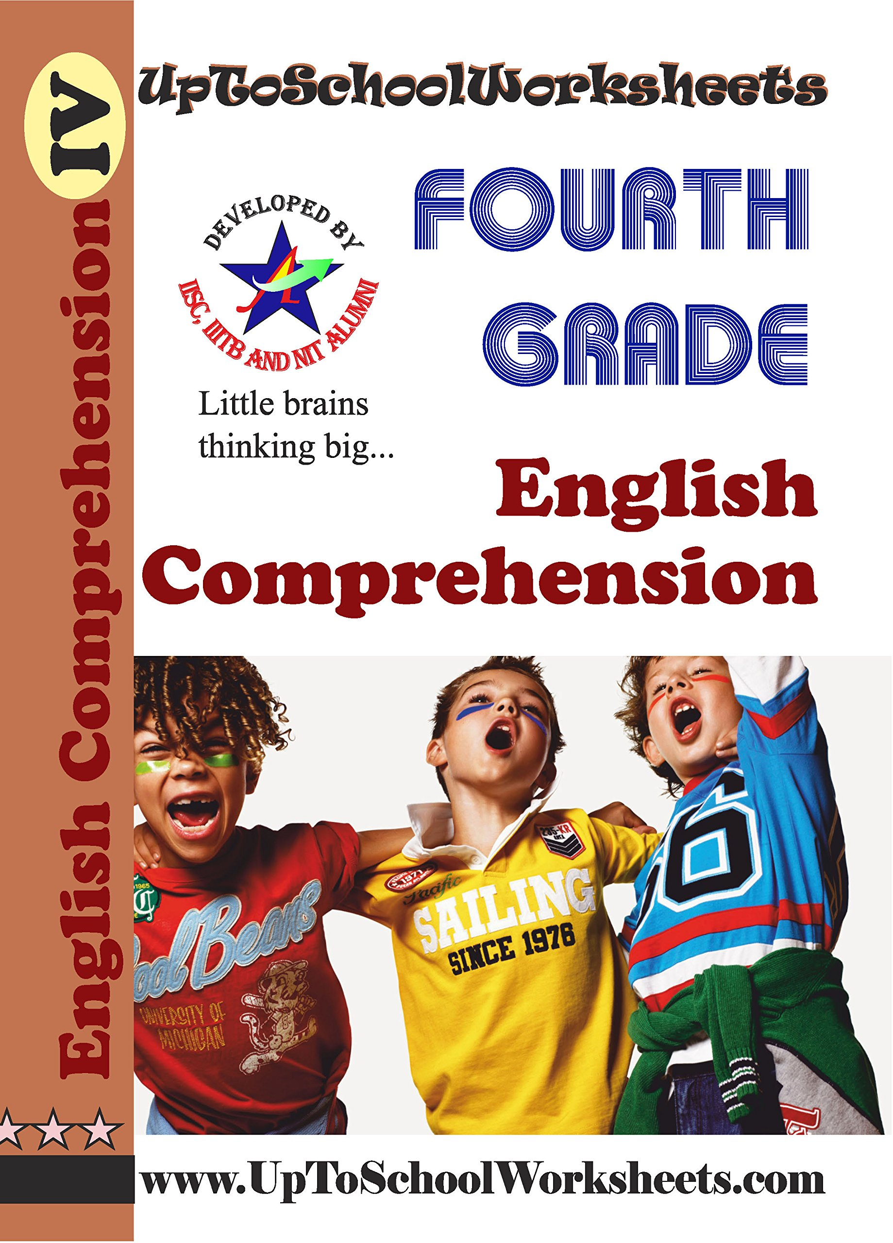 - Amazon.in: Buy Class 4 English Comprehension Worksheets-CBSE/ICSE
