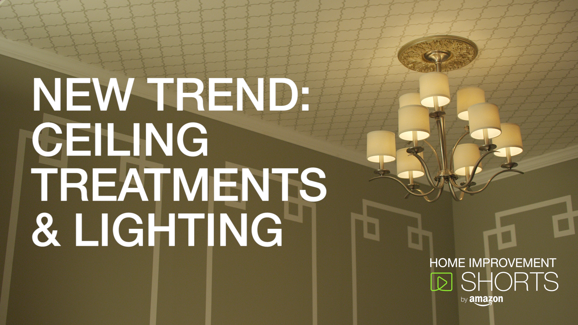 New Trend: Ceiling Treatments & Lighting