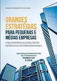 Grandes Estratégias para Pequenas e Médias Empresas: a sua empresa ou o seu novo negócio em outros patamares: Aplicação do M