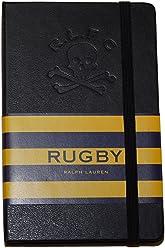 Polo Ralph Lauren Rugby Skull Crossbones Moleskin Notebook Journal Diary Black
