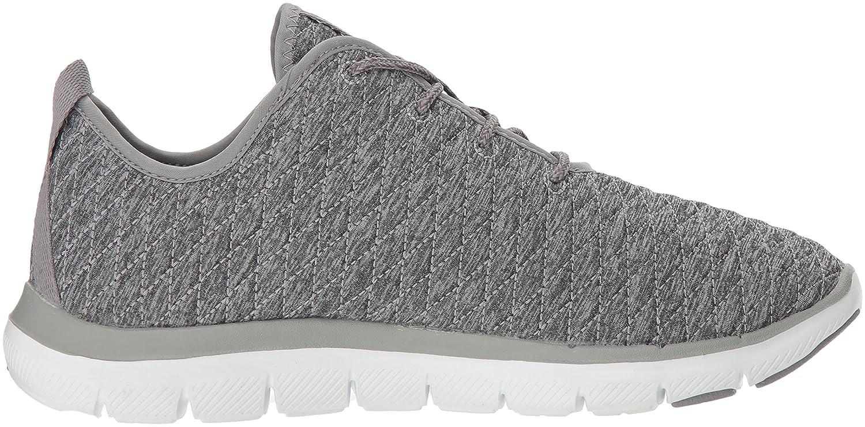 Skechers Women's Flex Appeal 2.0 First Impression Sneaker B01N4QDD0F 11 B(M) US Grey
