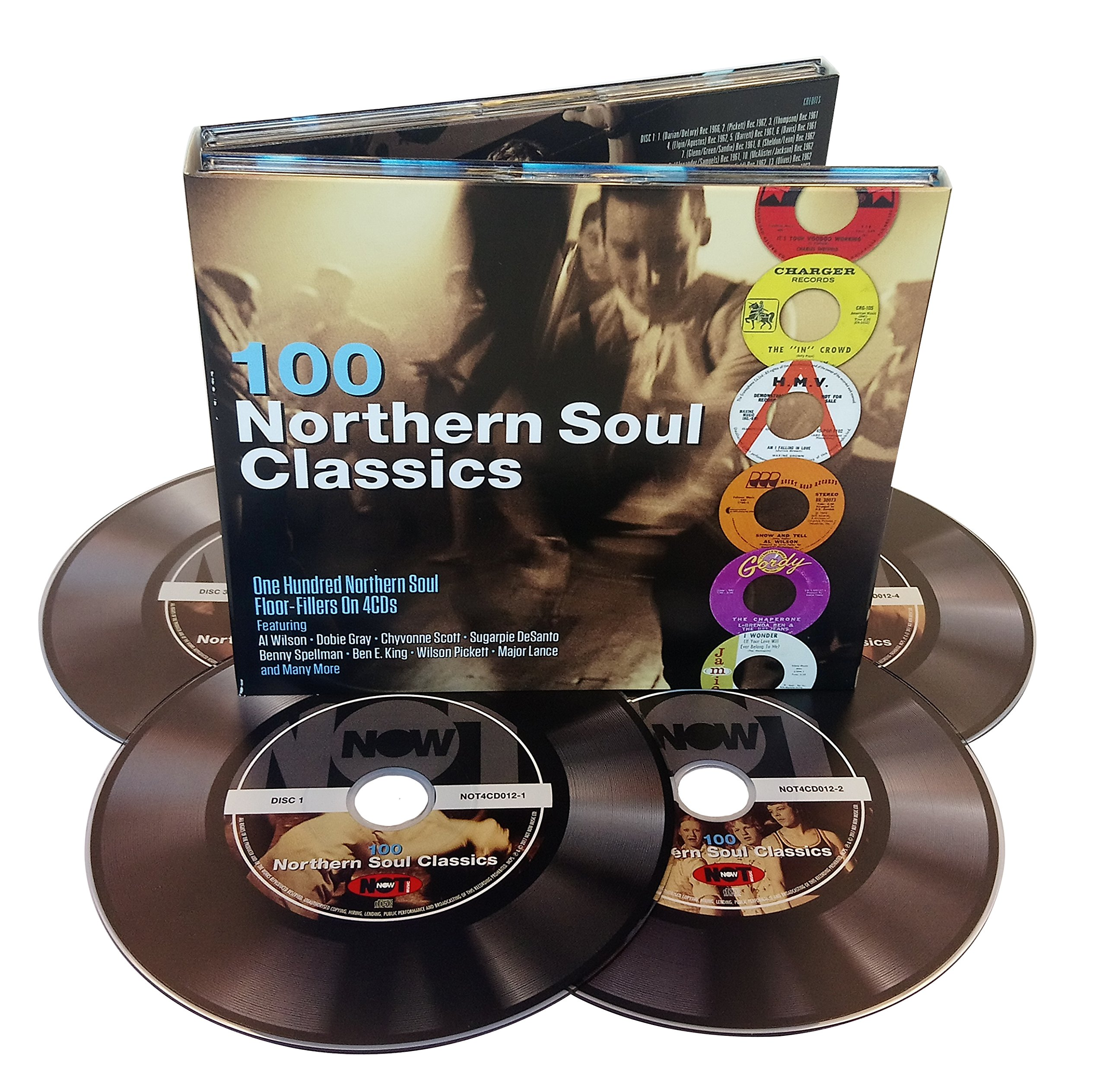 CD : 100 Northern Soul Classics / Various (United Kingdom - Import, 4 Disc)