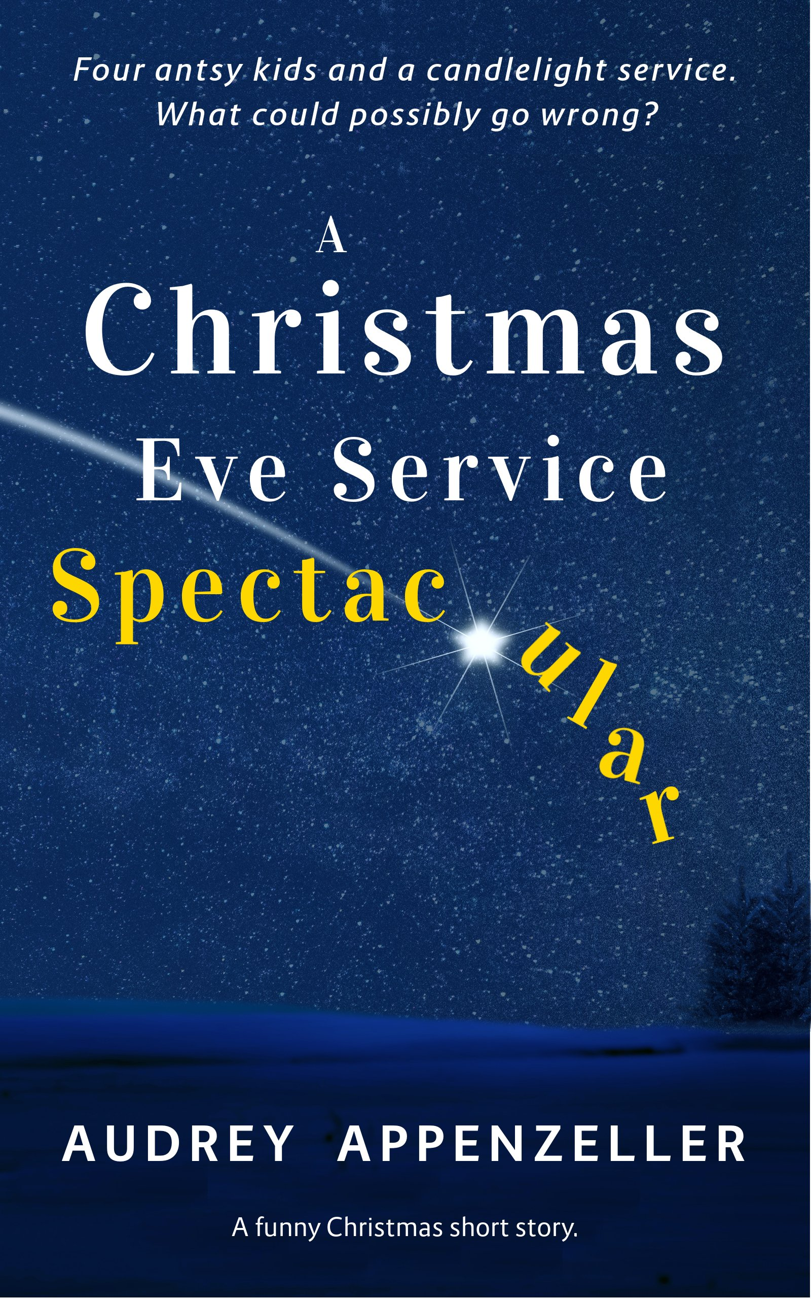 a christmas eve service spectacular a funny christmas short story kindle edition by audrey appenzeller literature fiction kindle ebooks amazoncom
