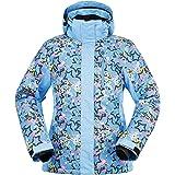 Andorra Women's Performance Insulated Ski Jacket with Zip-Off Hood