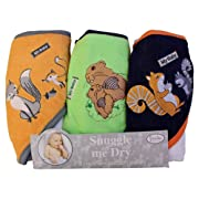 My Baby  Animal Hooded Bath Towel Set, 3 Pack, Frenchie Mini Couture