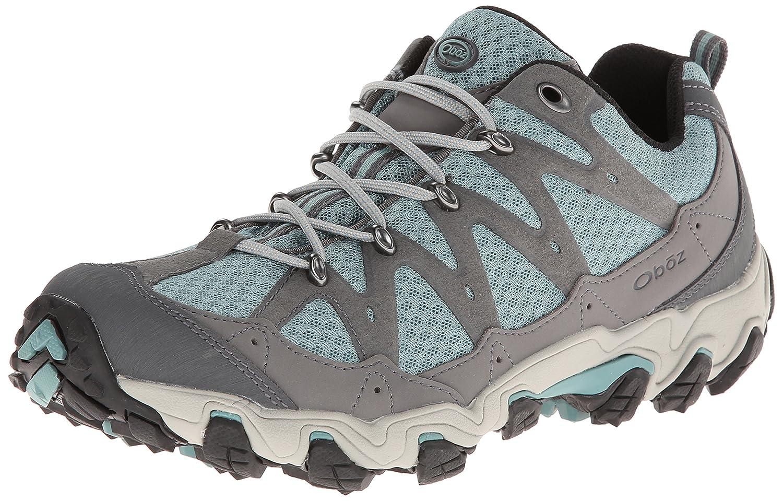 Oboz Women's Luna Low Hiking Shoe B009OZE6P2 6 B(M) US|Mineral Blue