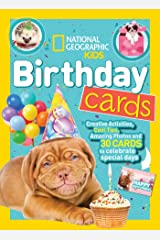 National Geographic Kids Birthday Cards Paperback