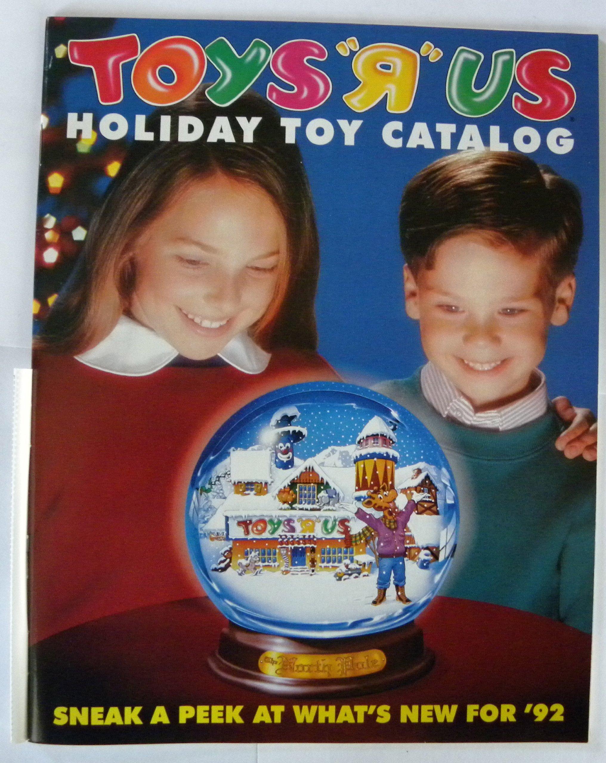 Toys R Us Holiday Toy Catalog 1992 Amazon Com Books