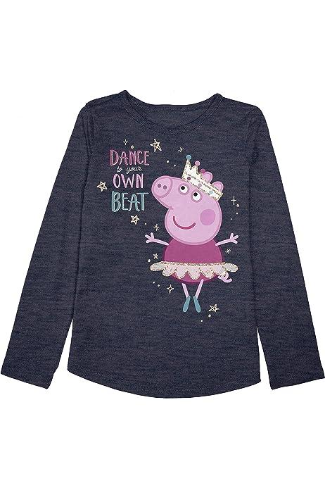 Jumping Beans Toddler Peppa Pig Princess Dance Tee Shirt New 2T 3T,4T