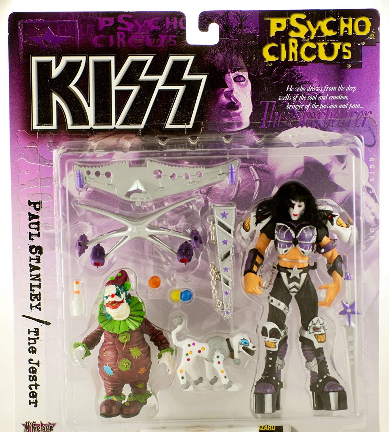 Kiss Psycho Circus Circus Circus Deluxe - Paul Stanley with The Jester 7ed883