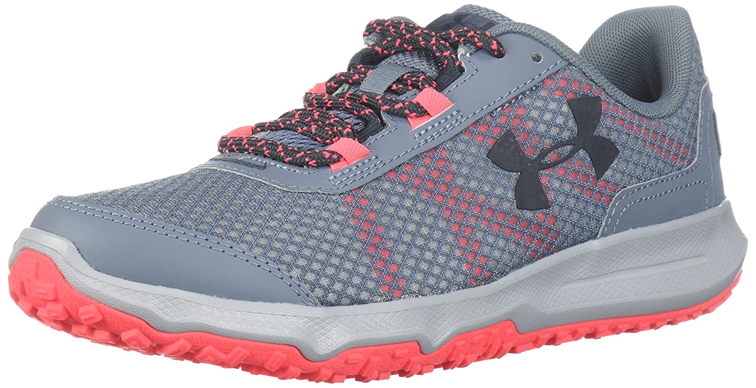Under Armour Women's Toccoa Running Shoe B071VTTWL4 6.5 M US|Gravel (100)/Neo Pulse