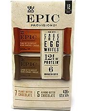 General Mills Epic Provisions Protein Bars 12 x 53 Grams Net Wt 636 Grams, 636 Grams
